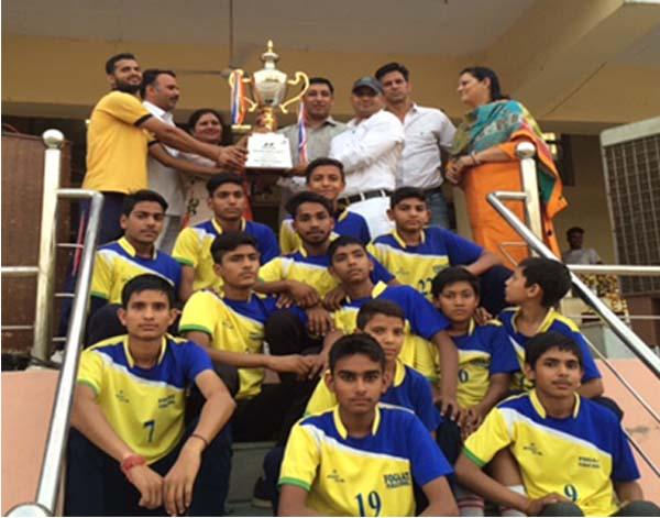 फौगाट पब्लिक स्कूल ने जीती वॉलीबाल चैंपियनशिप
