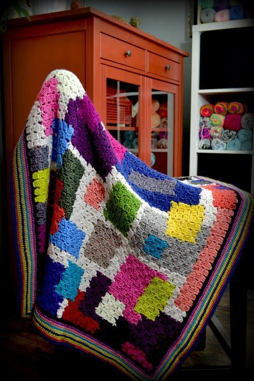 Chic Sheep Day Dream Blanket - Free Pattern