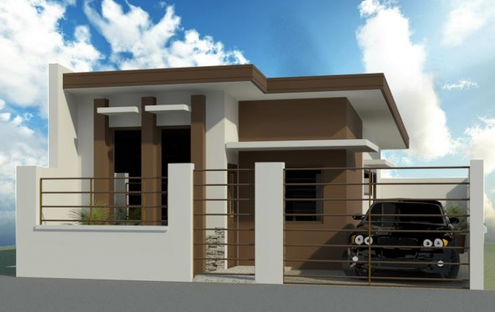 30 minimalist beautiful small house design for 2016 for Minimalist home designs philippines