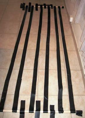 6 jalur ductape 50 mm