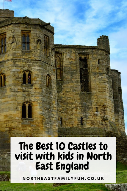 The Best 10 Castles to visit with kids in North East England #Northumberland #Castles #England