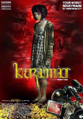 Poster Film Keramat