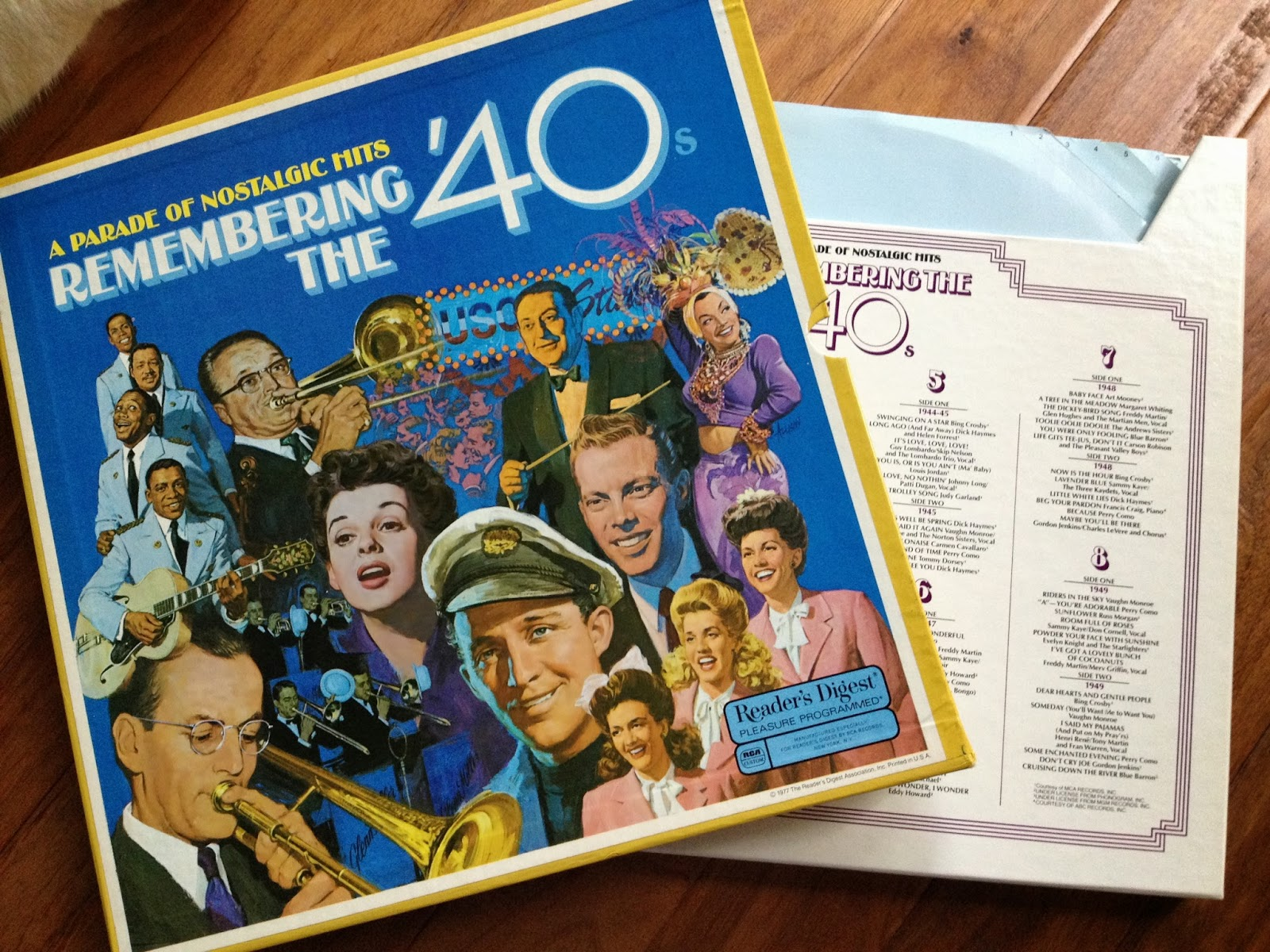 LP:  Remembering the 40s