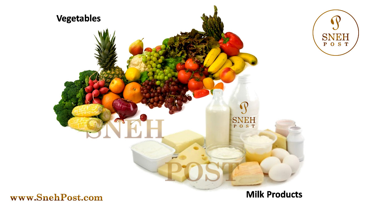 Simple Carbohydtrates Types and carbohydrate rich foods: Natural Sources of carbohydrates such as Vegetables, fruits and milk products