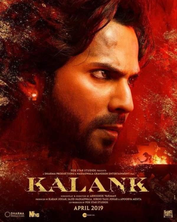 kalank poster release