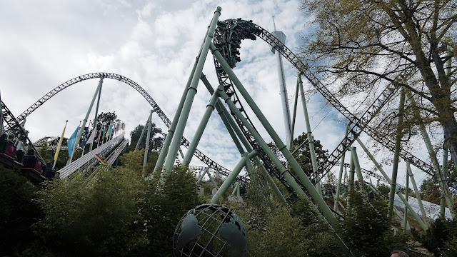 Photo of Helix Roller Coaster at Liseberg
