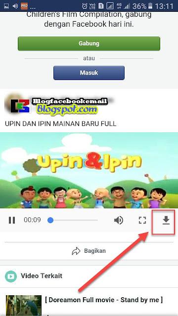 cara download file video di aplikasi facebook tanpa aplikasi