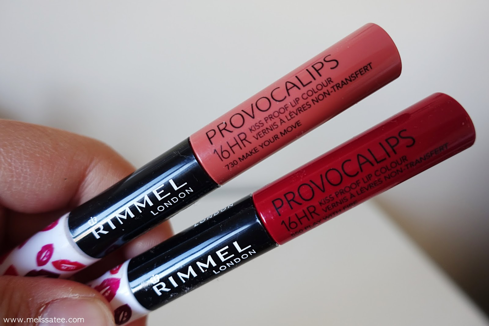 rimmel provocalips, rimmel liquid lipsticks, rimmel lipsticks, rimmel provocalips 16 hour kiss proof lip colour, rimmel play with fire, rimmel make your move