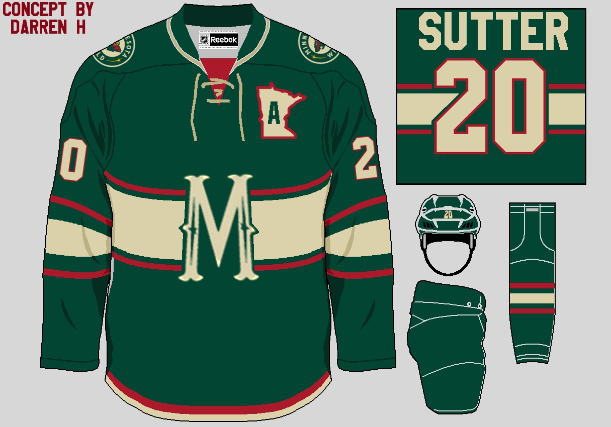 lowest price 68efd 35622 Beaches] Mn wild jersey north star colors