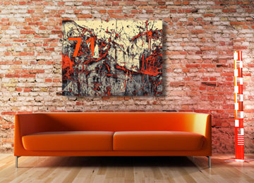 orange, abstract, industrial, art, canvas art, wall art, contemporary, abstract photography, Sam Freek,