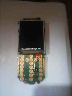 Tecno 605 rx and tx pin