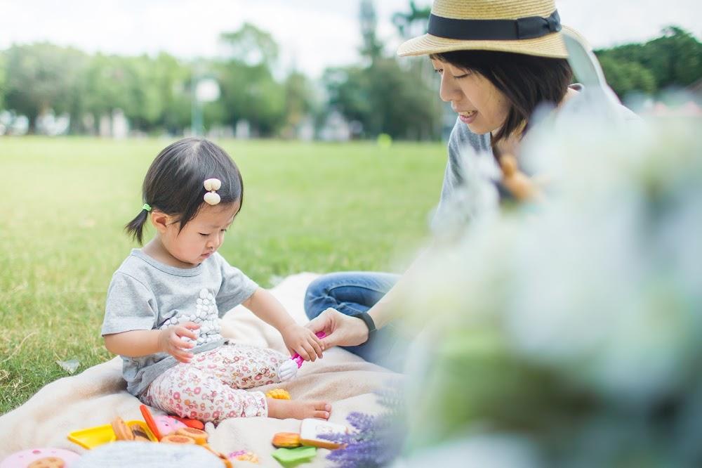 台北戶外兒童寫真全家福兒童家庭
