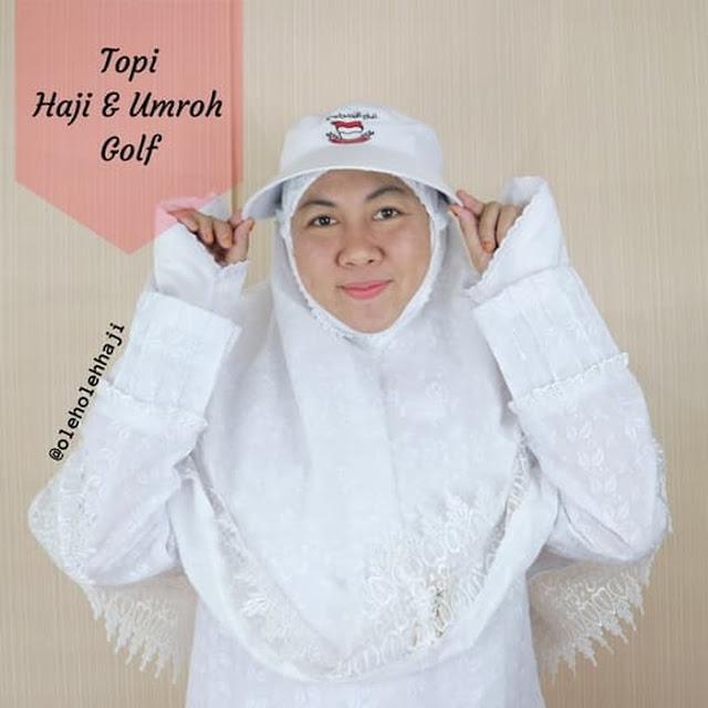 Topi Haji/Umroh (Golf Style)