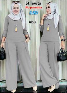 Baju Muslimah Model Kulot