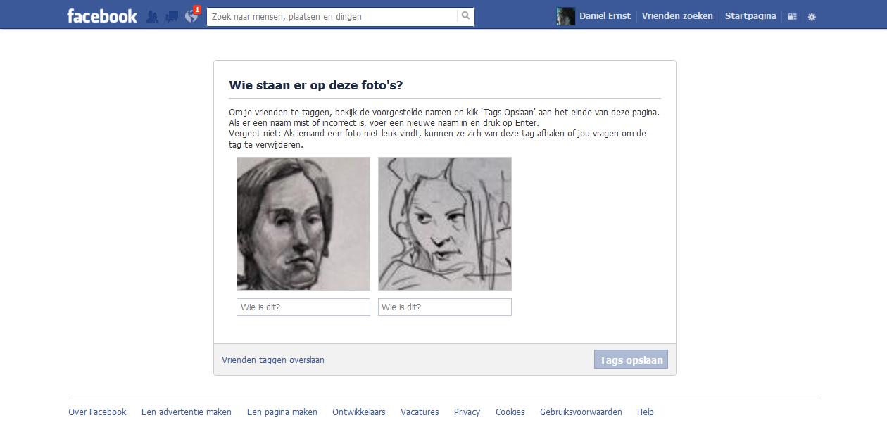 niet leuk facebook