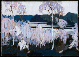 Tom Thomson painting - After the Sleet Storm