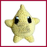 Estrella Luna amigurumi