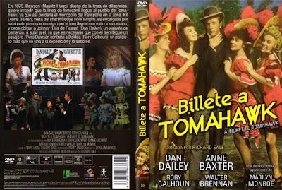 Billete a Tomahawk (1950) A Ticket to Tomahawk