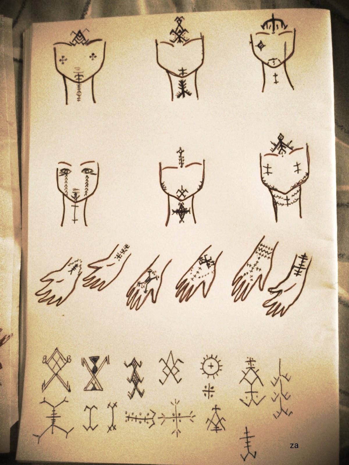 Numidya North Africanamazigh Tattoos