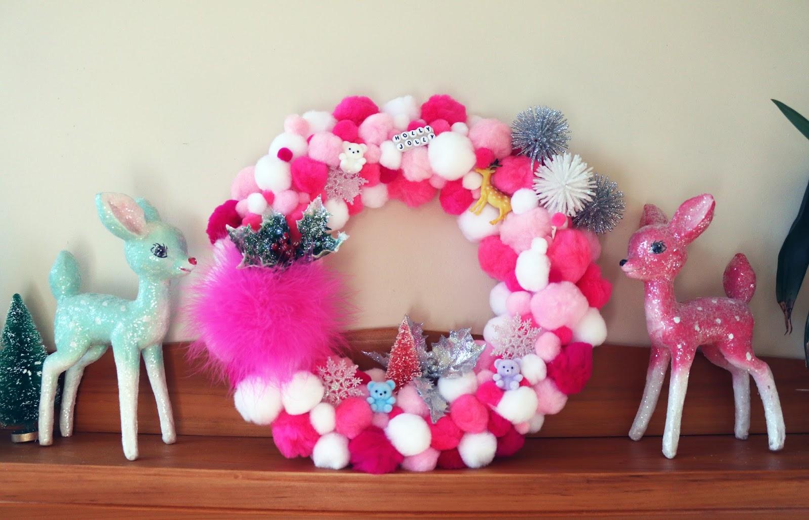 DIY Kitschy Christmas Wreath | POPPYSEEDER | Beauty, Music, and New ...
