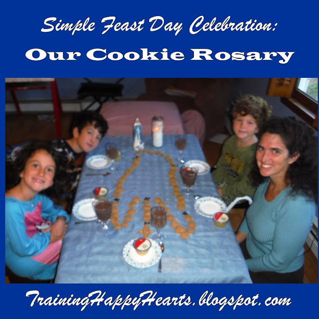 http://traininghappyhearts.blogspot.com/2015/10/our-cookie-rosary.html