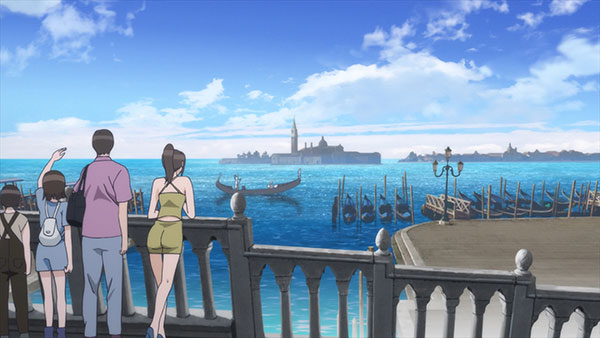 Anime Aria - Anime rileks - Latar tempat Aria
