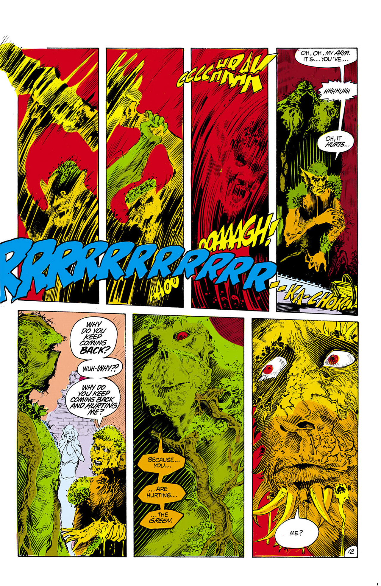 Swamp Thing (1982) Issue #24 #32 - English 13