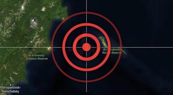 Alerta de tsunami para las costas de rusia