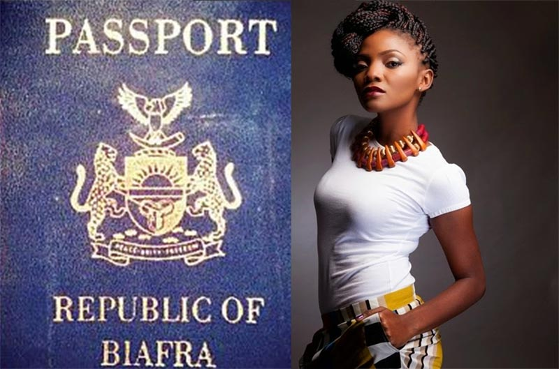 Singer Simi politely declines request of fan who promised to take her to Biafra