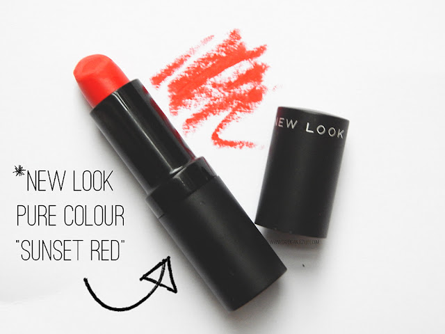 New Look Pure Colour in Sunset Red