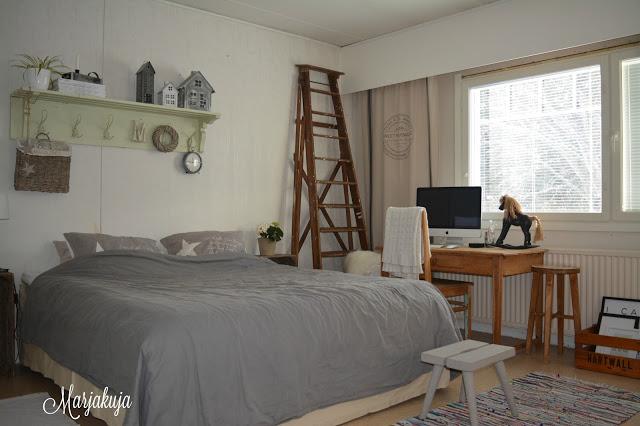 Alkuperainen makuuhuone