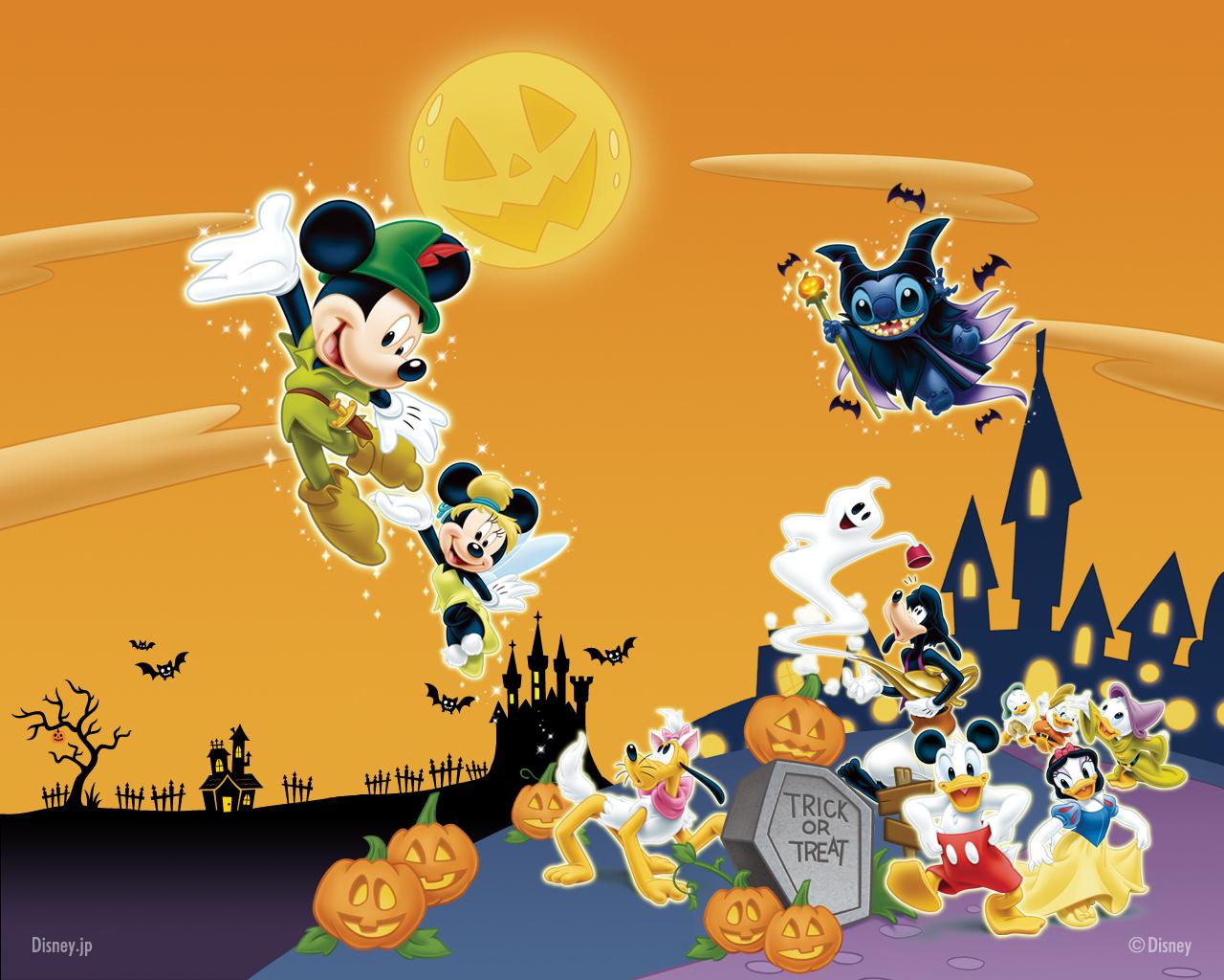 Happy Halloween 2012 wallpaper for Disney's fan ...