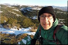 Unda mendiaren gailurra 854 m. - 2017ko abenduaren 5ean