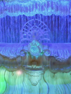 A closer look of the details of the Fortune Diamond at Galaxy Hotel in Macau