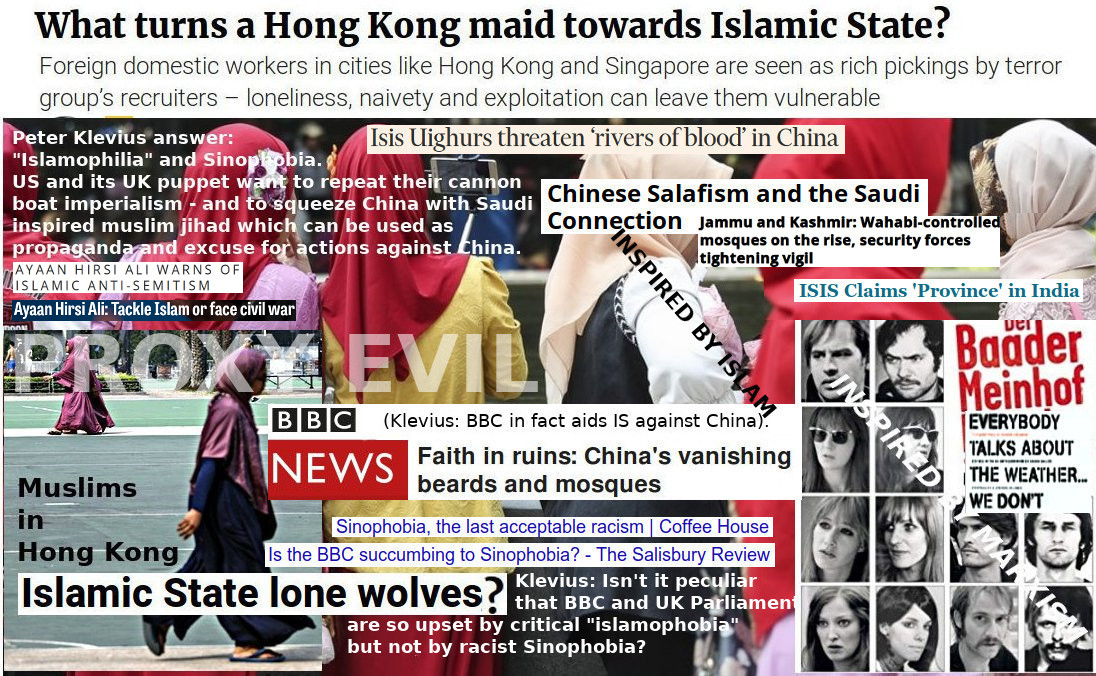 Why is West and BBC aiding islamofascism?