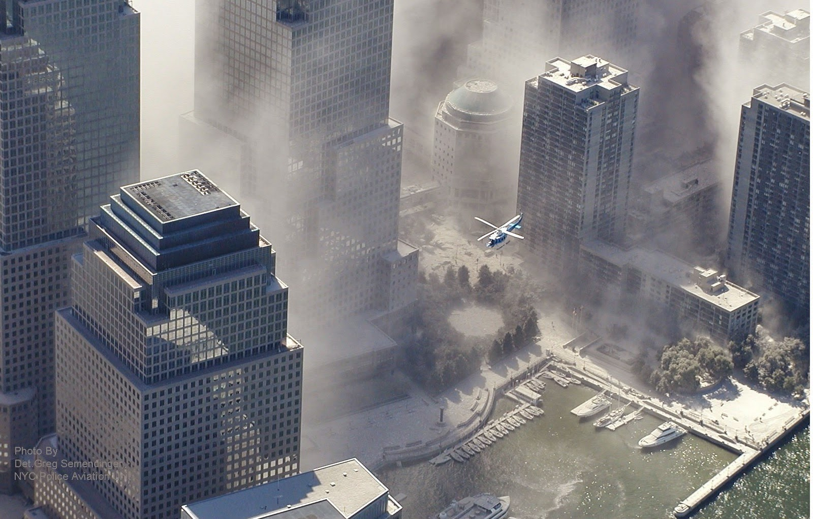 NYPD aviation subtracted Flight 175 from the record ...