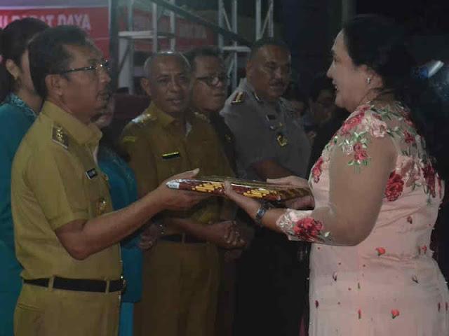 Resepsi 10 Tahun Kabupaten Maluku Barat Daya Berlangsung Meriah