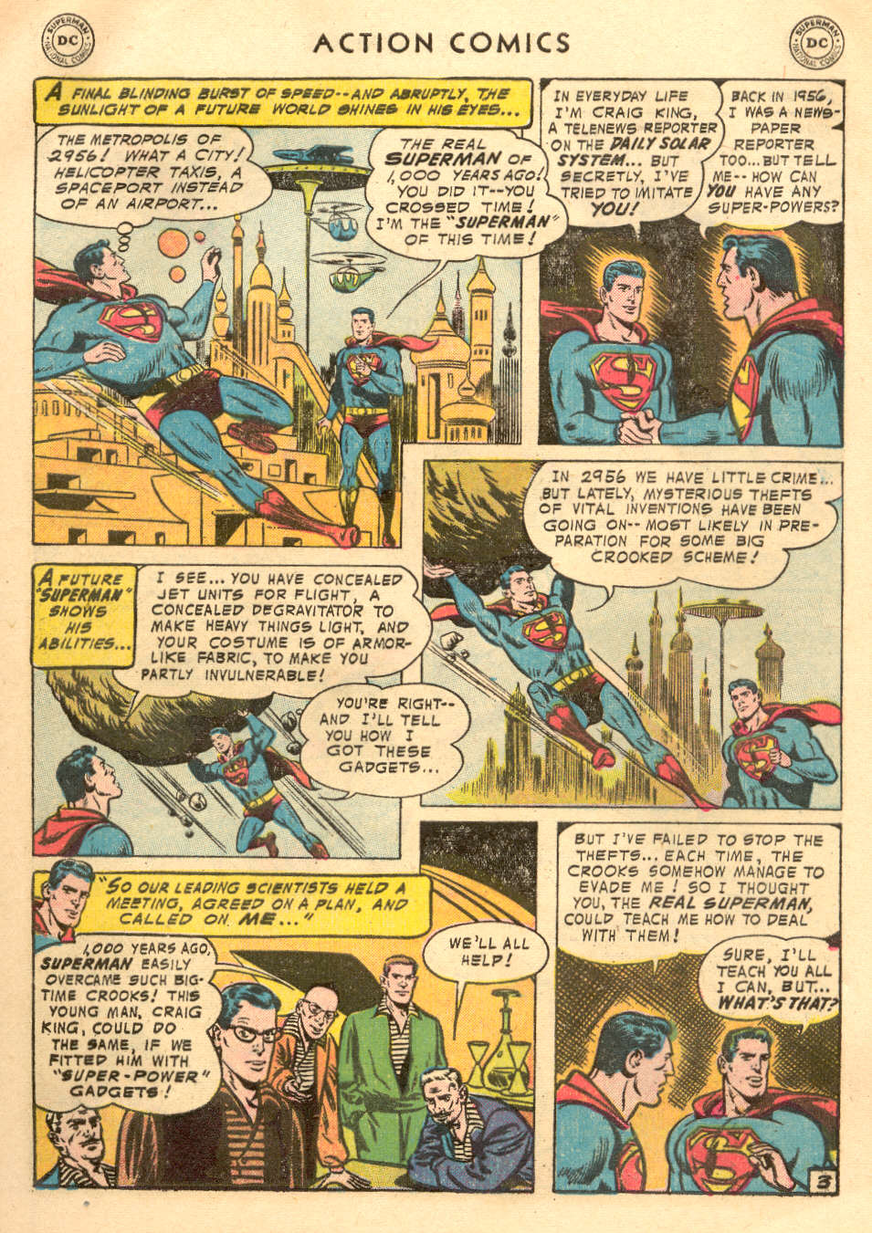 Read online Action Comics (1938) comic -  Issue #215 - 5