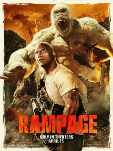 Rampage (2018) Dual Audio 720p HDTS Clean Audio [Hindi – English]