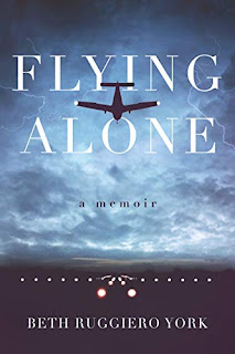 Book Review and GIVEAWAY - Flying Alone: A Memoir, by Beth Ruggiero York {ends 10/25}