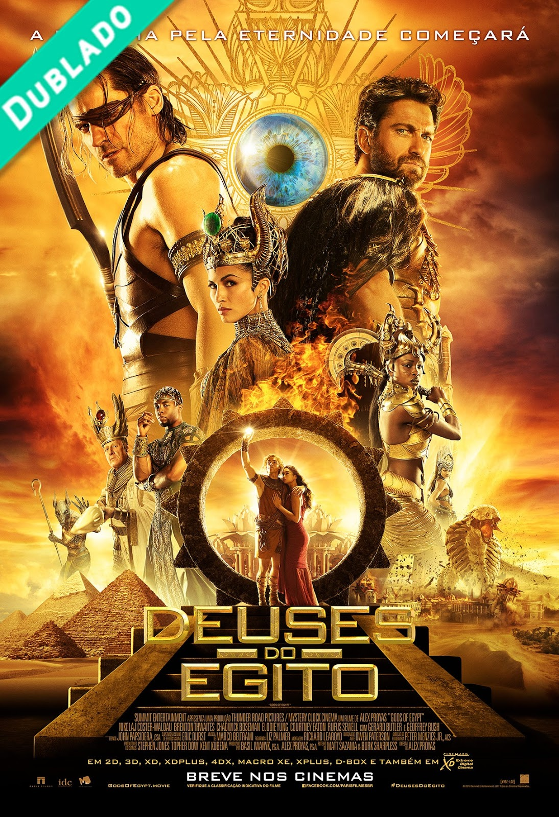 Deuses do Egito Torrent – BluRay 720p, 1080p Dual Áudio 5.1 Download (2016)