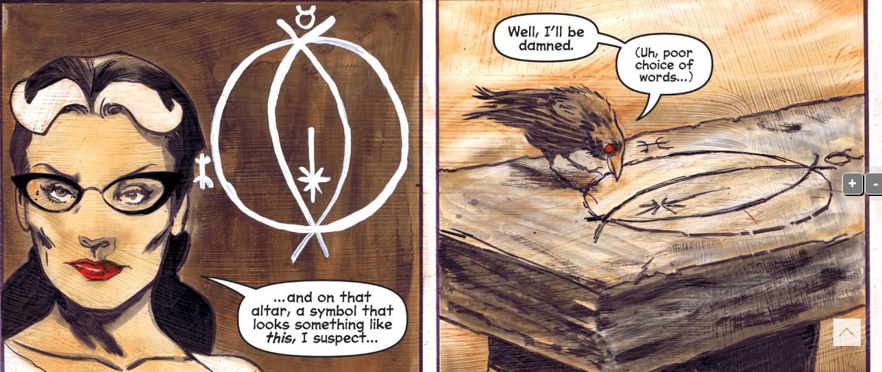 sabrina comics ambrose