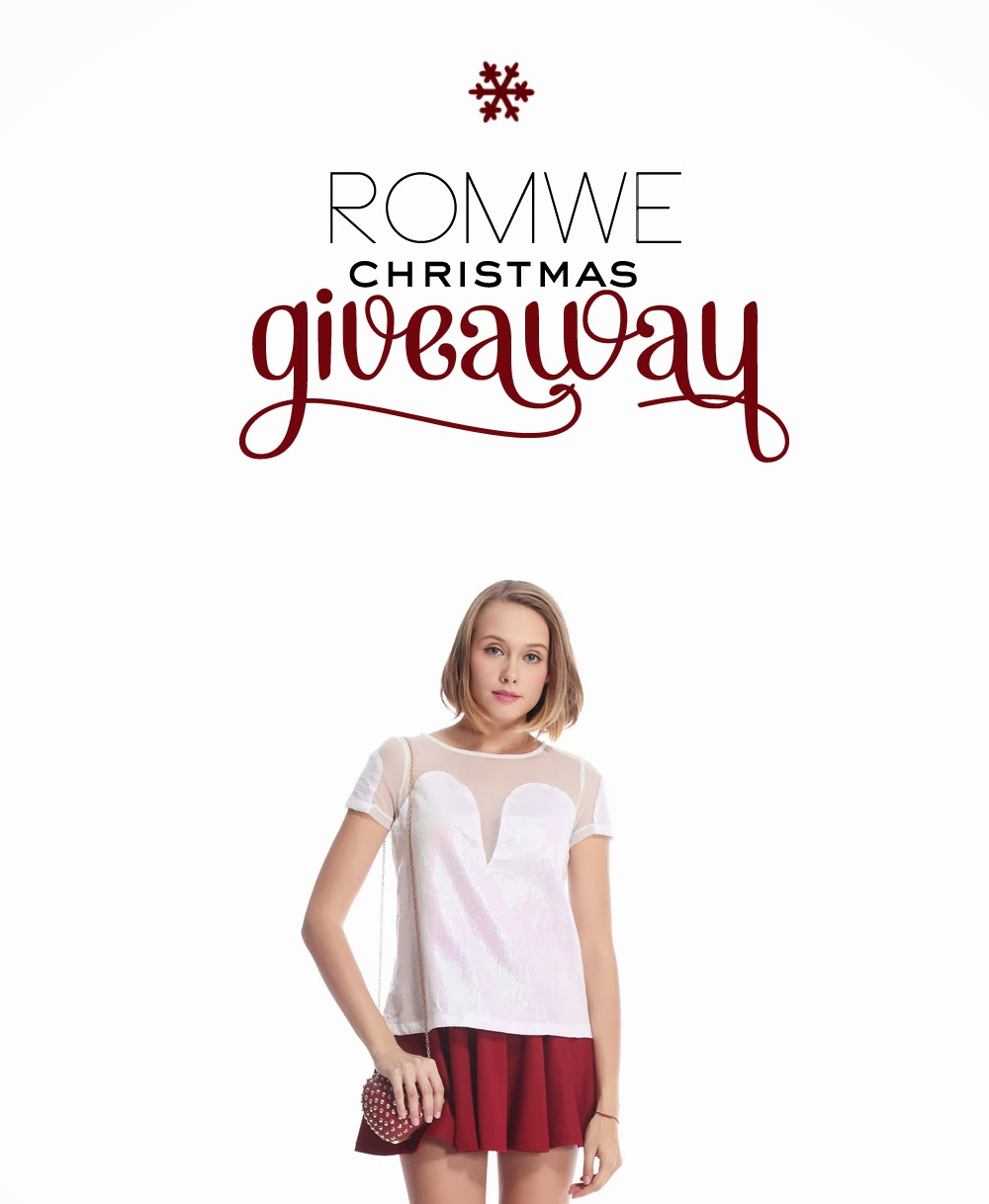 CLOSED: Romwe Christmas Giveaway