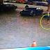 Ibu Cuai, Anak dilanggar dan diseret kereta di stesen minyak