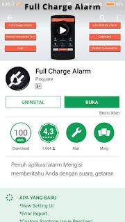 Alarm Full Baterai Xiomi