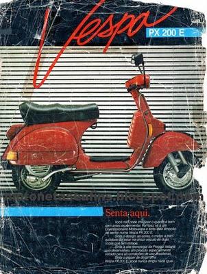 img032 600x795 - Garagem do Colecionador: VESPA - PX200E 1986