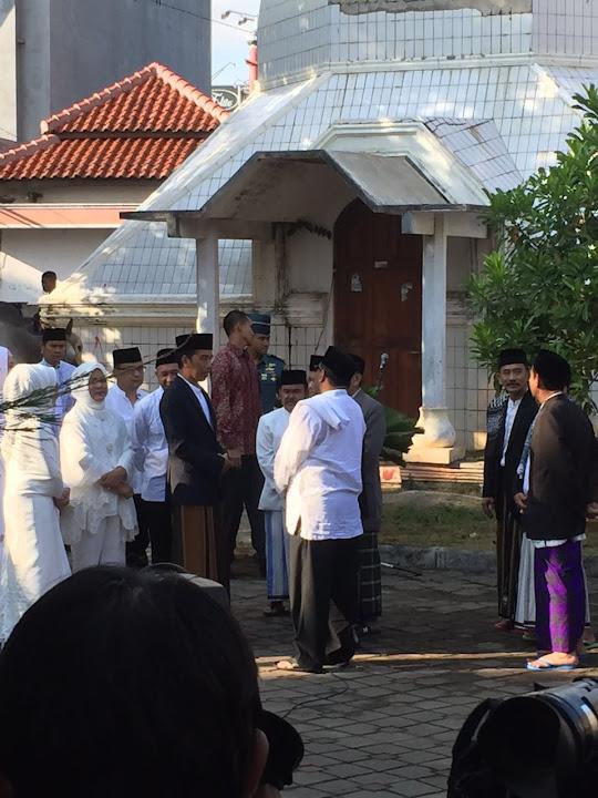 Permalink to Presiden Joko Widodo melaksanakan Solat Idul Adha berjamaah di Masjid Agung Ats-Tsauroh Kota Serang