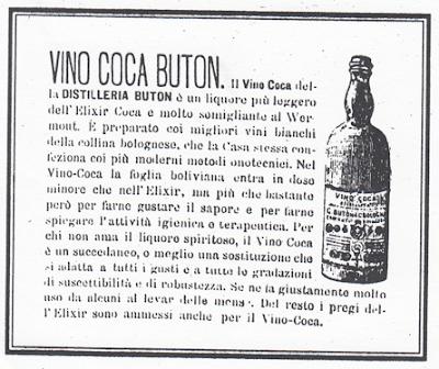 La Coca Buton, di nuovo prodotta oggi con l'etichetta d'epoca dopo un lungo periodo di oblio