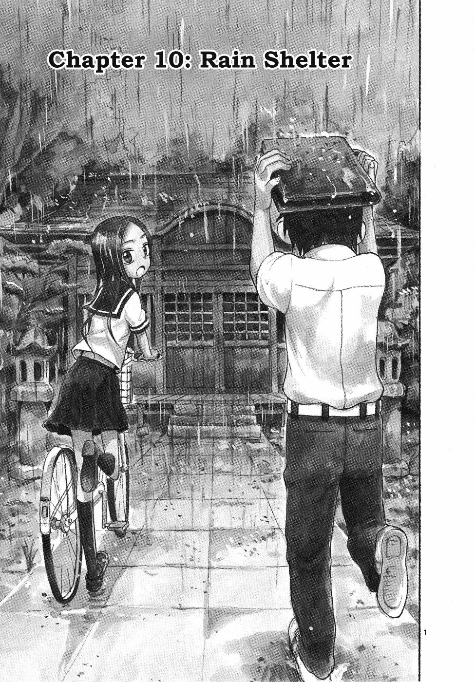 Karakai Jouzu no Takagi-san - Chapter 13
