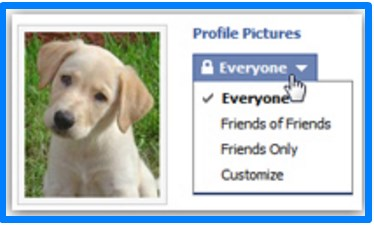 how to hide profile picture on facebook from public